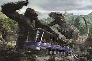 これぞ3DVR体験!Universal Studio Hollywood『King Kong 360|3D』(2010-)トラムバスに乗って360°臨場感。L.A.に行ったら絶対に見逃すな。VFXはWeta Digital